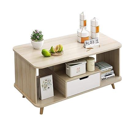 Tavolo in legno divano, piccolo soggiorno tavolino da salotto ...