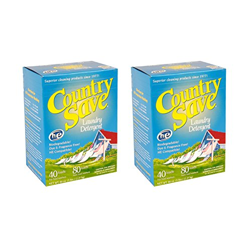 Powdered Country Save Detergent - Country Save All Natural Laundry Detergent 5 lb Box (Pack of 2)
