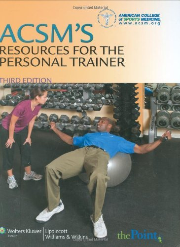 ACSMs Resources for Personal Trainer_ 3RD EDITION