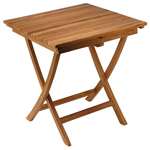 (Bare Decor Helene Outdoor Teak Folding Dining Table 28