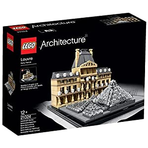 695 Pieces, Louvre Model Building Set - 51QEysk1W2L - 695 Pieces, Louvre Model Building Set