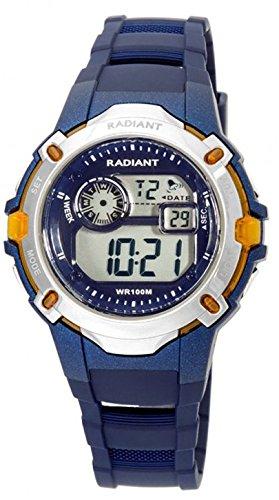 Radiant new Shock Reloj para Niño Digital de Cuarzo con Brazalete de Silicona RA263604: Amazon.es: Relojes