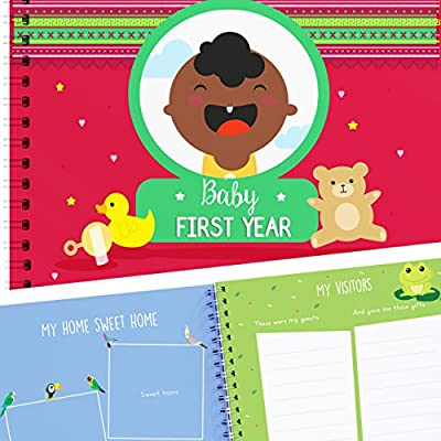 Baby 1st Year Memory Book - Baby Bullet Journal - Babies Photo Album to Registry all your Memories - Perfect Present for Baby Shower - Newborns Keepsake Books - Personalized your Adventures by Unconditional Rosie that we recomend individually.