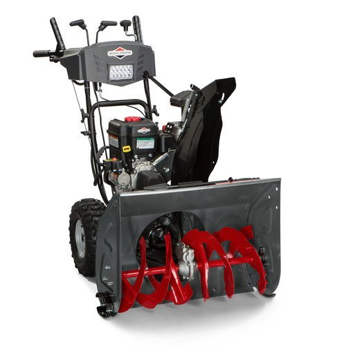 Find Discount Briggs and Stratton 1696619 Dual-Stage Snow Thrower with 250cc Engine and Electric Sta...