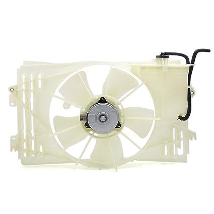 Amazon.com: DealMux radiador / condensador de refrigeração Assembléia Fan para Toyota Corolla Matrix / Pontiac Vibe 03-08 TO3115125: Automotive