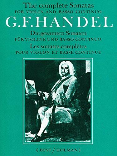 Complete Sonatas for Violin and Basso Continuo: Score & Part (Faber Edition)