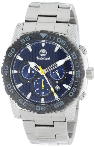 Timberland Men's 13612JSSB/03M Analog Chronograph 3 Hands Date Watch