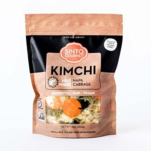 Sinto Gourmet Mild White Napa Cabbage Kimchi (Napa Cabbage)