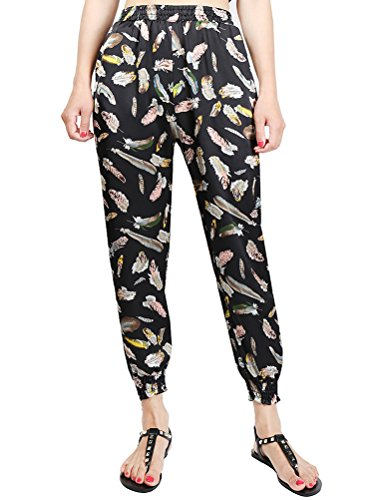 MatchLife - Pantalón - Pantalones - para mujer Style2-Plume Noire