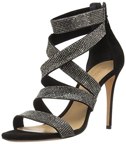 Schutz Women's Jia Heeled Sandal Black clearance ebay free shipping discount official for sale outlet best prices footaction cheap price gMmywX3