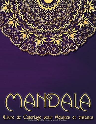 Mandala 95 Mandalas Pour Adultes Sur Fond Noir Pour Des Couleurs