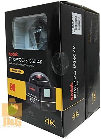 Kodak PixPro SP360 4 K Cámara de acción videocámara con Accesorios – Premier Pack: Amazon.es: Electrónica