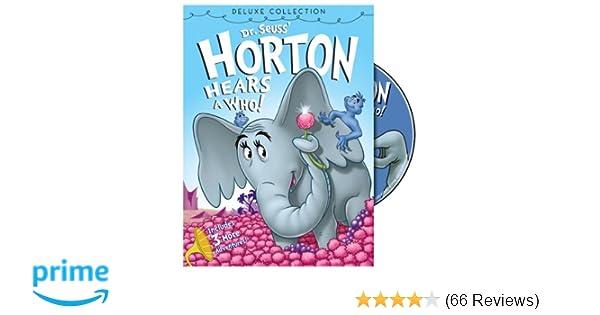 578e5dcc7 Amazon.com: Dr. Seuss' Horton Hears a Who (Deluxe Edition): Various: Movies  & TV