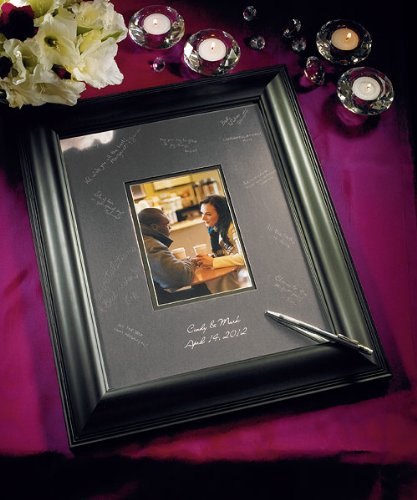 Weddingstar 8779 Framed Inscribable Signature Keepsake Mat Kit- Large by Weddingstar Inc. Signature Framed Picture