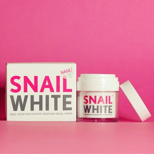 Snail White Cream Facial Recovery Filtrate Secretion Moisture Acne Skin Care 50g - Anti Wrinkle / Skin (Facial Lightening)