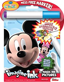 bendon disney mickey mouse clubhouse imagine ink book - Imagine Ink Coloring Book