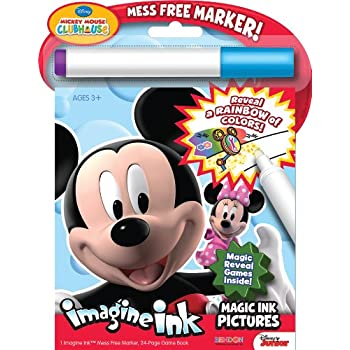 Bendon 26013 Mickey Mouse Clubhouse Imagine Ink Magic Ink Pictures