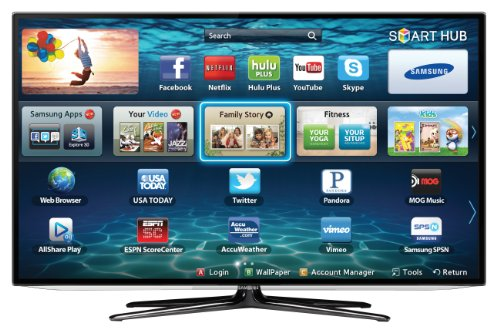 Samsung UN46ES6100 46-Inch 1080p 120Hz Slim LED HDTV (Black) (2012 Model) ()