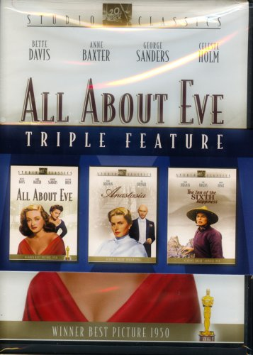 Studio Classics Triple Feature: All About Eve/ Anastasia/ The Inn of the Sixth Happiness