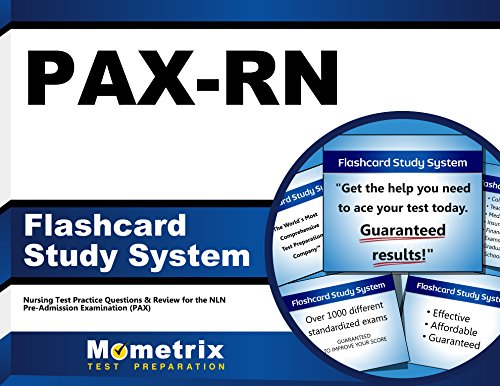 PAX-RN Flashcard Study System: Nursing Test Practice Questions & Review for the NLN Pre-Admission Examination (PAX) (Cards)