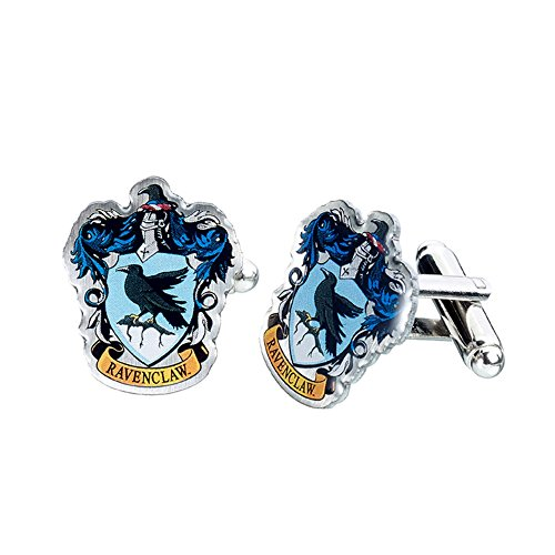 (HARRY POTTER Official Ravenclaw Crest Cufflinks)