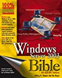 Windows Server 2003, Jeffrey R. Shapiro and Jim Boyce, 0471754803