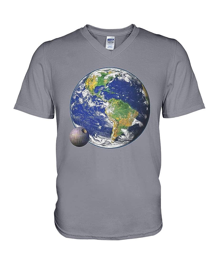 Nancy Findlayss Thats No Moon V-Neck T-Shirt Asphalt XL