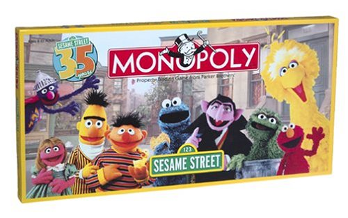 USAopoly Sesame Street 35th Anniversary Edition MONOPOLY