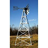20 ft. Customized Powder Coated Steel Underwater Aeration Windmills