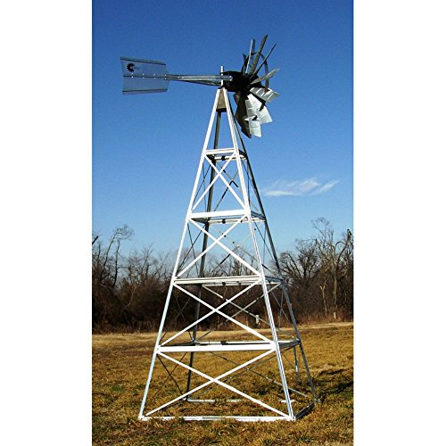 20' Forest Green Powder Coated Windmill