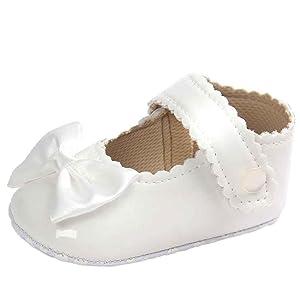 Sandalias Bebe,Tefamore La princesa del arco zapatos de bebé zapatos de los zapatos de bebé