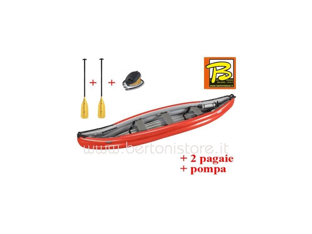 gumotex - gumotex Scout Standard roja canoa hinchable 044667 ...