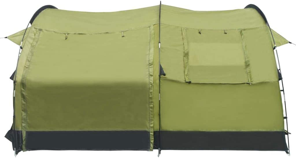 Festnight Tunnel Camping Tent 4 Person