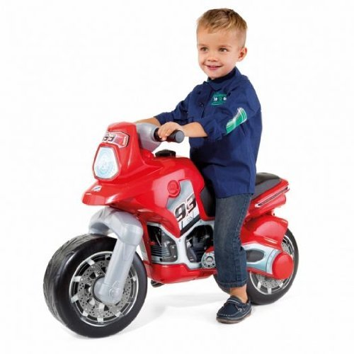 New Molto Cross Advanced Push Along Ride On Bike Sporty Motorbike for Kids - Red by Molto