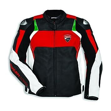 Ducati Corse C3 Dainese Chaqueta de Cuero Negro - Negro, 54 ...
