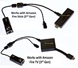 LAN Ethernet Adapter for Amazon FIRE STICK (2nd Gen) PLUS USB Adapter - Xlent Comfort Zone