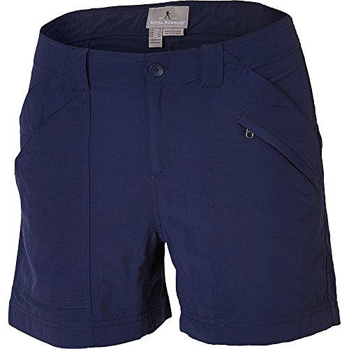 Royal Robbins Womens Backcountry Shorts (6 - Deep Blue)