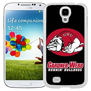Beautiful Designed With NCAA Big South Conference GardnerWebb Runnin Bulldogs 4 Protective Cell Phone Hardshell Cover Case For Samsung Galaxy S4 I9500 i337 M919 i545 r970 l720 Phone Case White