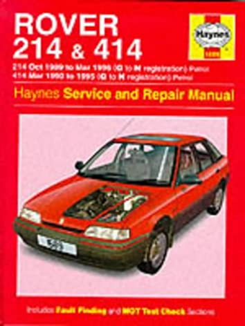 rover 214 and 414 89 96 service and repair manual haynes service rh amazon com Rover Tourer Land Rover Range Rover