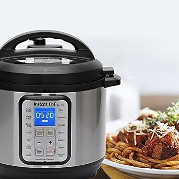 Instant Pot Duo Plus 60, 6 Qt 9-in-1 Multi- Use Programmable Pressure Cooker, Slow Cooker, Rice Cooker, Yogurt Maker, Egg Cooker, Sauté, Steamer, Warmer, & Sterilizer 9