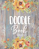 Doodle Book Adults: Blank Doodle Draw Sketch Books