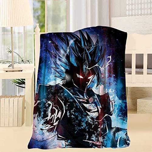 STBYYBDA Dragon Ball Fleece Blanket Lightweight Super Soft Cozy Luxury Bed Blanket Microfiber Twin Throw Throw 50x60inch