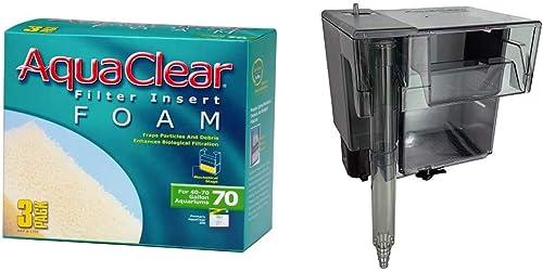AquaClear 70 multistage filter & foam inserts