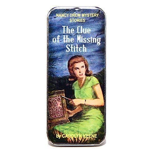 Magnetic Sewing Needle Case Clue of the Missing Stitch (Needle Keeper Magnetic)