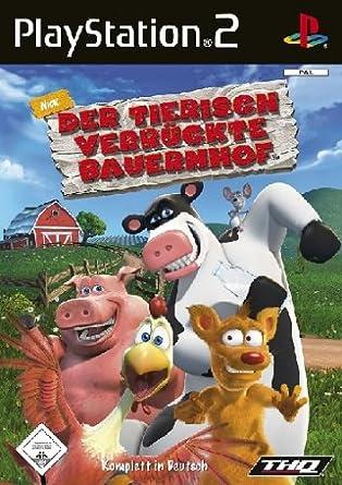 Der tierisch verrückte Bauernhof: Playstation 2: Amazon.de: Games