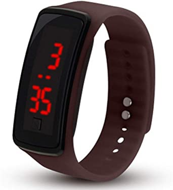 TrifyCore Reloj Digital para niños Reloj de Pulsera LED con Pantalla táctil de Silicona Reloj Deportivo para niños: Amazon.es: Relojes