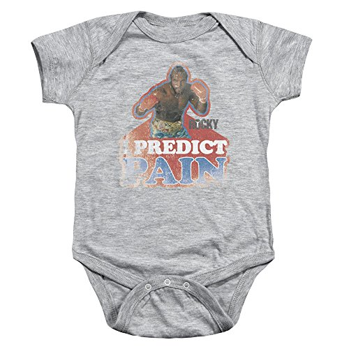 mgm-rocky-i-predict-pain-unisex-baby-snapsuit-heather-sm-6-mos