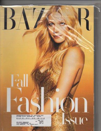 Harper's Bazaar September 2006 Fall Fashion Issue Gwyneth - Floral Starring