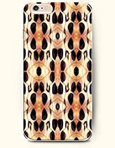 Apple iPhone 6 Case ( 4.7 inches) with Design of Black And Yellow Serpentine Eye Pattern - Snake Skin Print -OOFIT Authentic iPhone Skin