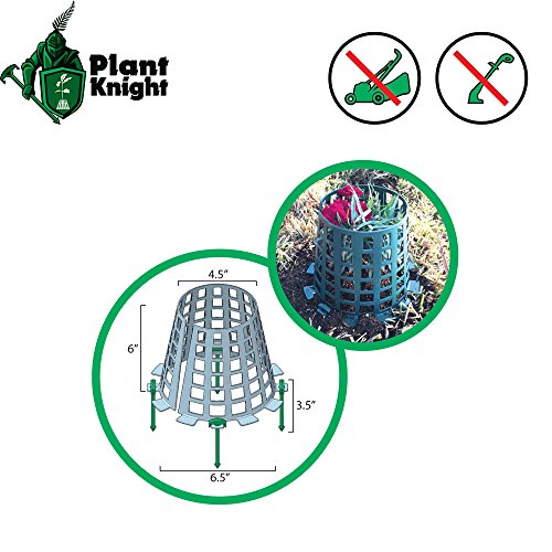 plant-and-tree-guard-and-protector-for-trees-plants-saplings-landscape-lights-lamp-posts-more-expandable-for-larger-trees-and-plants-protection-from-trimmers-weed-whackers-green-3-pack